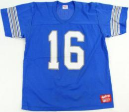"NFL グッズ Rawlings DeadStock Vintage Jersey / Detroit Lions ( デトロイト ライオンズ ) ""VTメッシュ(水色)#16"""