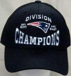 NFL グッズ 2011 AFC EAST Division Champions Official Locker Room CAP(BLACK)/New England Patriots(ニューイングランド ペイトリオッツ)