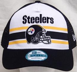"NFL グッズ NewEra / New Era ( ニューエラ ) "" NFL SPIRAL STRIPE 9FORTY SNAPBACK Cap ""/ Pittsburgh Steelers ( ピッツバーグ スティーラーズ )"