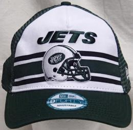 "NFL グッズ NewEra / New Era ( ニューエラ ) "" NFL SPIRAL STRIPE 9FORTY SNAPBACK Cap ""/ NewYork Jets ( ニューヨーク ジェッツ )"