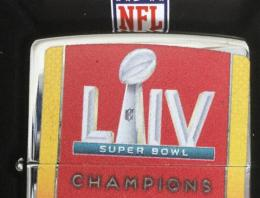 [ NFL SUPERBOWL Limited Edition ZIPPO LIGHTER ] NFL グッズ SUPER BOWL LIV (第54回スーパーボウル)優勝記念ZIPPOライター Kansas City Chiefs ( カンザスシティー チーフス )