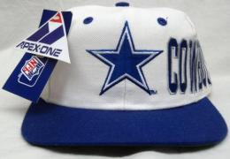 NFL グッズ APEX ONE DeadStock Vintage ラップ SnapBack CAP/Dallas Cowboys(ダラス カウボーイズ)