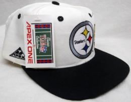 NFL グッズ APEX ONE DeadStock Vintage ラップ SnapBack CAP/Pittsburgh Steelers(ピッツバーグ スティーラーズ)