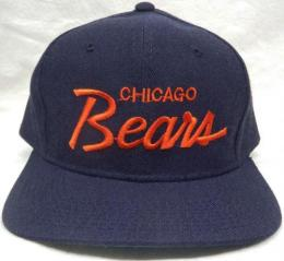 NFL グッズ Sports Specialties DeadStock Vintage Script(スクリプト) SnapBack CAP/Chicago Bears(シカゴ ベアーズ)