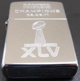 [ NFL SUPERBOWL Limited Edition ZIPPO LIGHTER ] NFL グッズ SUPER BOWL XLV (第45回スーパーボウル)優勝記念ZIPPOライター GreenBay Packers ( グリンベイ パッカーズ )