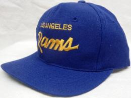 NFL グッズ Sports Specialties DeadStock Vintage Script(スクリプト) SnapBack CAP/Los Angeles Rams,LA Rams(ロサンゼルス ラムズ)