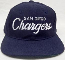 NFL グッズ Sports Specialties DeadStock Vintage Script(スクリプト) SnapBack CAP/Sandiego Chargers(サンディエゴ チャージャース)