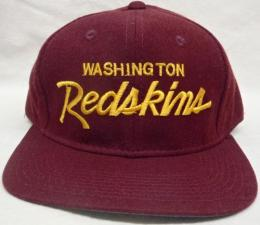 NFL グッズ Sports Specialties DeadStock Vintage Script(スクリプト) SnapBack CAP/Washington Redskins(ワシントン レッドスキンズ)