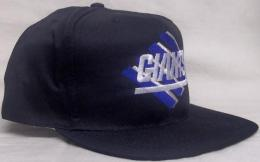 "NFL グッズ AMERICAN NEEDLE DeadStock Vintage SnapBack CAP ""ひし形"" / New York Giants ( ニューヨーク ジャイアンツ )(黒)"