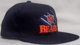 "NFL グッズ AMERICAN NEEDLE DeadStock Vintage SnapBack CAP ""ひし形"" / Chicago Bears ( シカゴ ベアーズ )(黒)"