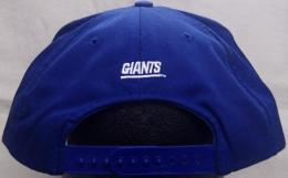 "NFL グッズ AMERICAN NEEDLE DeadStock Vintage SnapBack CAP ""シルエット"" / New York Giants ( ニューヨーク ジャイアンツ )(青)"