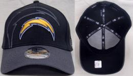 "NFL グッズ NewEra / New Era ( ニューエラ ) "" NFL Black Classic 39THIRTY FLEX Cap 2 ""/ Sandiego Chargers ( サンディエゴ チャージャース )"