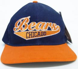 NFL グッズ Reebok DeadStock Vintage Script(スクリプト) SnapBack CAP/ Chicago Bears ( シカゴ ベアーズ )