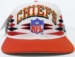 NFL グッズ Logoathletic(ロゴアスレチック) DeadStock Vintage Spike(スパイク) SnapBack Cap / KansasCity Chiefs カンザスシティー チーフス