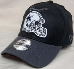 "NFL グッズ NewEra / New Era ( ニューエラ ) "" NFL Black Classic 39THIRTY FLEX Cap ""(黒/グレー)/Dallas Cowboys(ダラス カウボーイズ)"