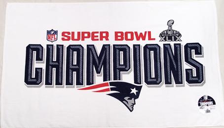 NEW NEW ENGLAND PATRIOTS SUPER BOWL XLIX-49 CHAMPIONS BUMPER STICKER NFL