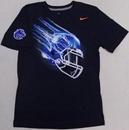 NIKE COLLEGE '14 ヘルメット Tシャツ (黒)/ Boise State Broncos ( ボイジー州立 ブロンコス )