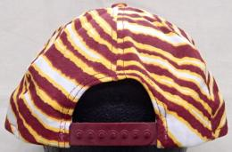 NFL グッズ AJD CAP CORP DeadStock Vintage ZUBAZ(ズバズ) SnapBack CAP/Washington Redskins(ワシントン レッドスキンズ)