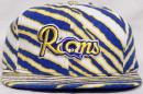 NFL グッズ AJD CAP CORP DeadStock Vintage ZUBAZ(ズバズ) SnapBack CAP/Los Angeles Rams/LA Rams/(ロサンゼルス ラムズ)